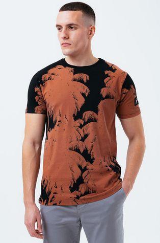 Hype - Бавовняна футболка BRONZE PALM