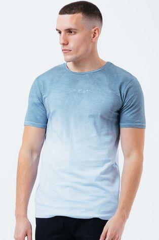 Hype - Bavlnené tričko BLUE DIP DYE