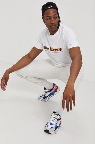 New Balance - Памучна тениска