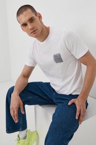 Solid - T-shirt bawełniany