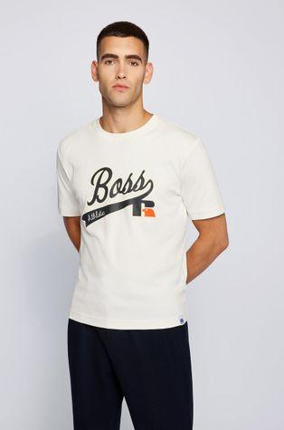 Boss - Βαμβακερό μπλουζάκι Boss x Russell Athletic