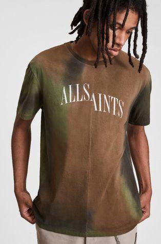 AllSaints - Бавовняна футболка