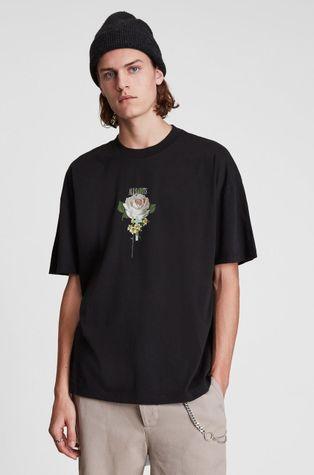 AllSaints - Βαμβακερό μπλουζάκι