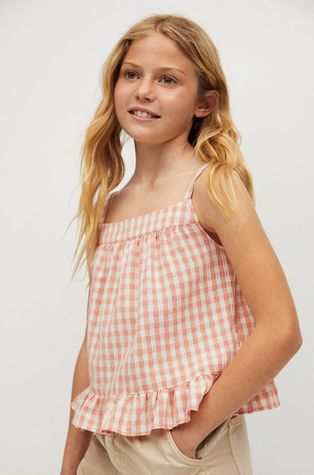 Mango Kids - Дитяча блузка Julia 110-164 cm