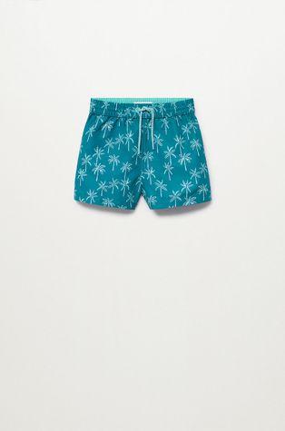 Mango Kids - Detské plavkové šortky Palmerab 86-104 cm