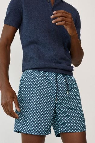 Mango Man - Plavkové šortky MANACOR