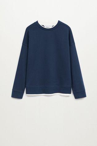 Mango Kids - Bluza bawełniana dziecięca BRUCE
