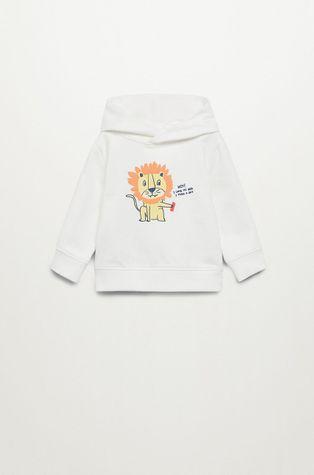 Mango Kids - Bluza bawełniana dziecięca Selva 80-104 cm