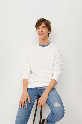Mango Kids - Bluza bawełniana dziecięca Leonard
