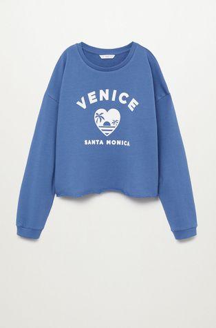 Mango Kids - Bluza bawełniana dziecięca VENICE