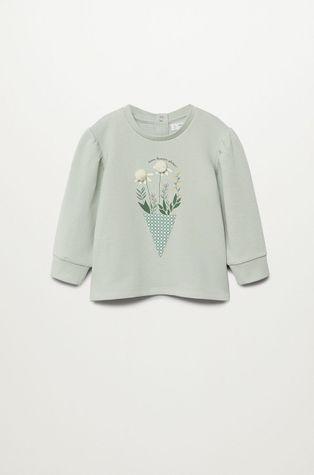 Mango Kids - Bluza bawełniana dziecięca PATTI