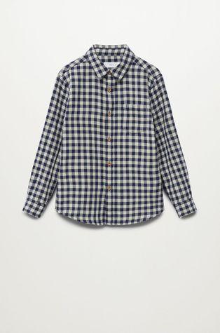 Mango Kids - Dětská bavlněná košile Double 110-164 cm