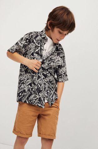 Mango Kids - Dětská košile Palmon 110-164 cm