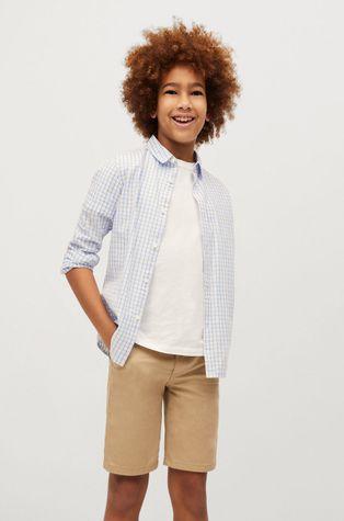 Mango Kids - Dětská bavlněná košile Cedric 110-164 cm