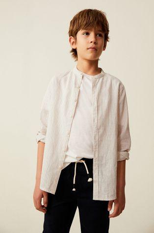 Mango Kids - Dětská košile Form 110-164 cm