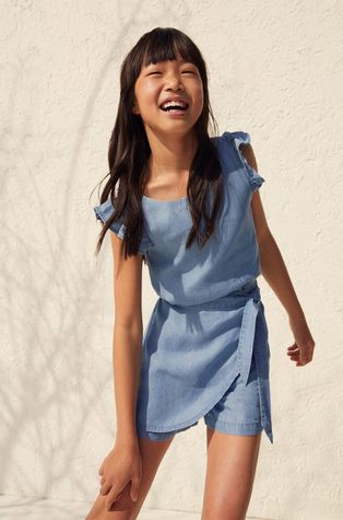 Mango Kids - Дитяча блузка Mia 110-164 cm