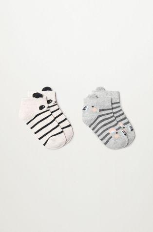 Mango Kids - Gyerek zokni MOUSEB (2 pár)