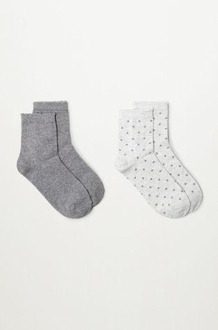 Mango Kids - Dětské ponožky TOPITO (2-PACK)