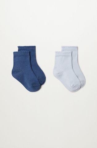 Mango Kids - Detské ponožky WAVE (2-pak)