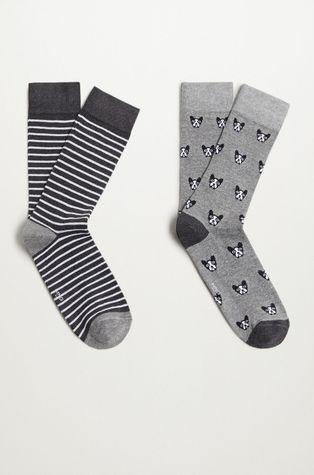 Mango Man - Ponožky BULLDOG (2-PACK)