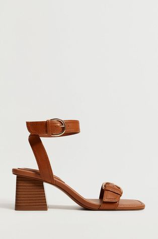 Mango - Кожаные сандалии MORE