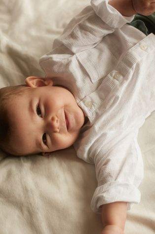 Mango Kids - Koszula niemowlęca FRAN