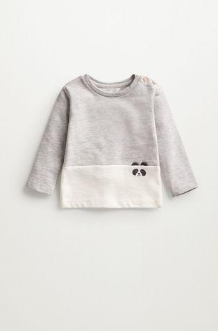 Mango Kids - Bluza niemowlęca PANDA