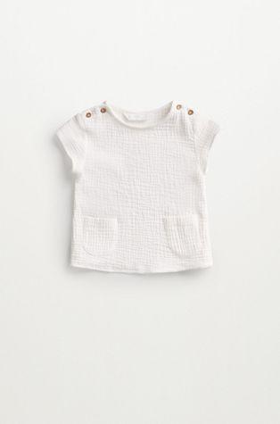 Mango Kids - Бавовняна блузка для немовлят FABIO