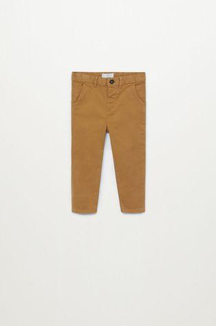 Mango Kids - Detské nohavice CHINO8