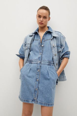 Mango - Džínové šaty Luna