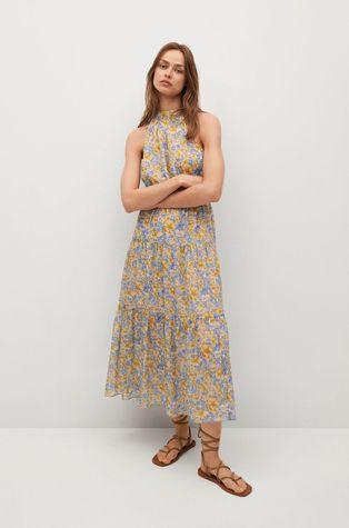 Mango - Sukienka PURPLE