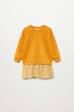 Mango Kids - Sukienka dziecięca CLAIRE