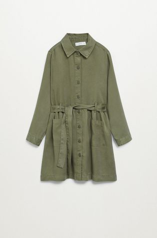 Mango Kids - Dívčí šaty Iva 110-164 cm