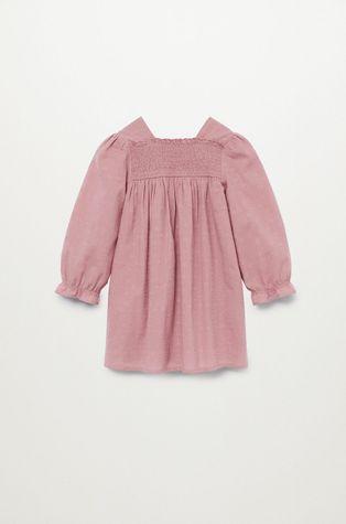 Mango Kids - Dívčí šaty Aina 80-110 cm