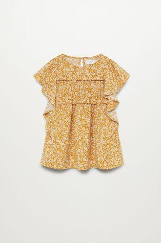 Mango Kids - Dívčí šaty Moss 80-110 cm
