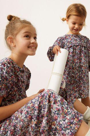 Mango Kids - Dívčí šaty Lisboa 80-110 cm