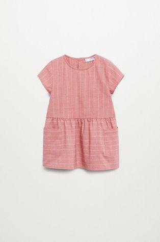 Mango Kids - Sukienka dziecięca ABRIL