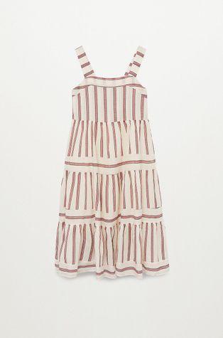 Mango Kids - Sukienka dziecięca INDI-H