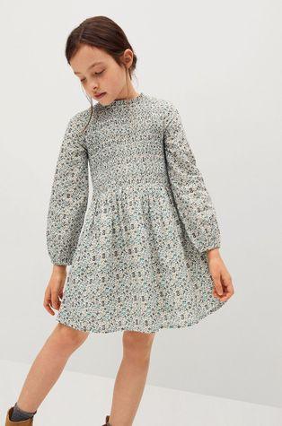 Mango Kids - Sukienka dziecięca Blume 116-164 cm