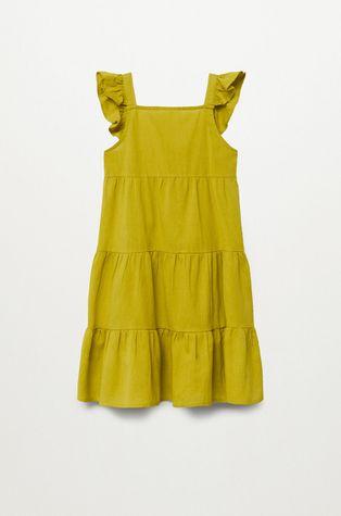 Mango Kids - Детска рокля SIENNA