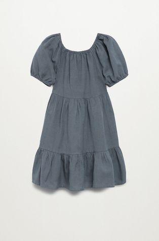 Mango Kids - Sukienka dziecięca Lucia 116-164 cm