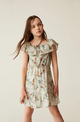 Mango Kids - Sukienka dziecięca Lory 116-164 cm
