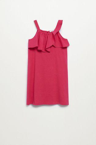 Mango Kids - Dívčí šaty Libra-I 110-164 cm
