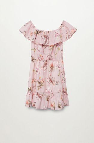 Mango Kids - Sukienka dziecięca Dressy 116-164 cm