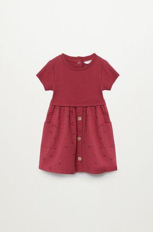 Mango Kids - Dívčí šaty Berta 80-104 cm