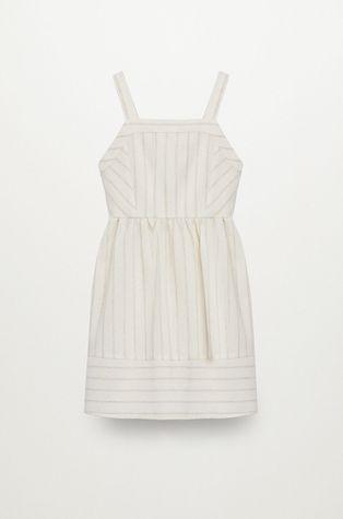 Mango Kids - Детска рокля Celina 110-152 cm