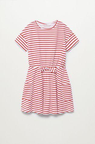 Mango Kids - Dívčí šaty Vanesa 110-164 cm