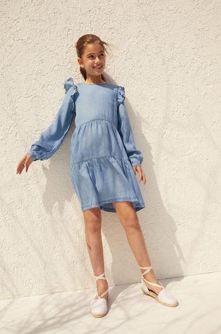 Mango Kids - Dívčí šaty Cara 110-164 cm