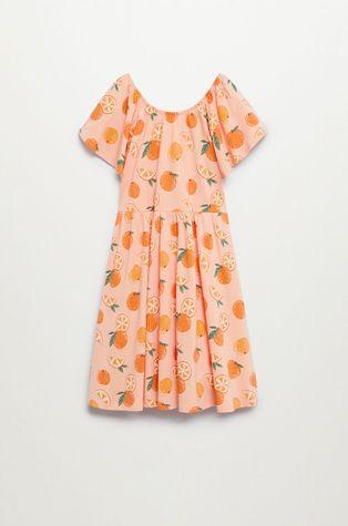 Mango Kids - Sukienka dziecięca Martina 110-164 cm
