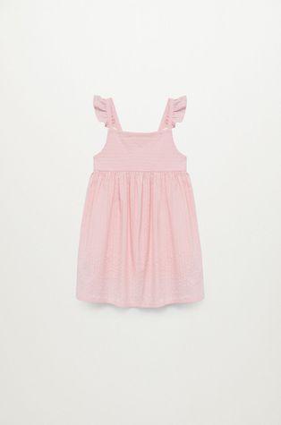 Mango Kids - Sukienka dziecięca Vega 80-110 cm